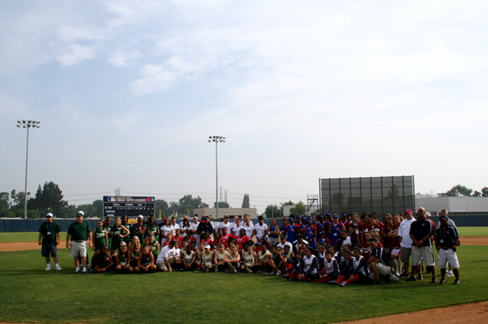 2008 RBI World Series - Softball - Group Photo