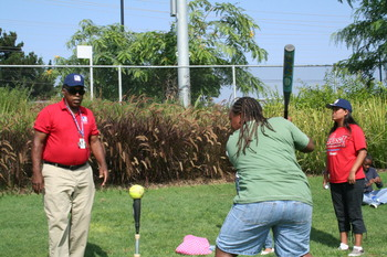 Thumbnail image for UYA - TWLC 2008 Golf and Baseball Clinic - Softball