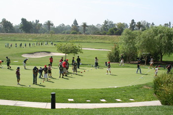 UYA - TWLC 2008 Golf and Baseball Clinic - Putting Greens