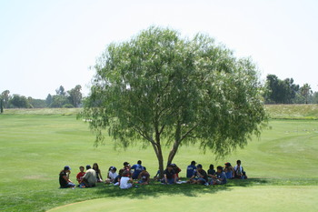 UYA - TWLC 2008 Golf and Baseball Clinic - Eating Tree