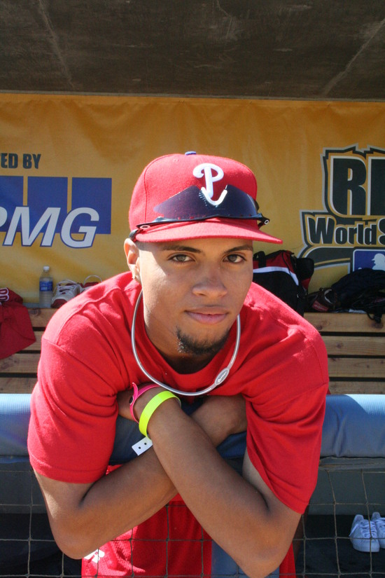 2008 RBI World Series - Day 2 - Faces - Philly Senior boy