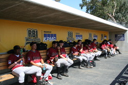 2008 RBI World Series - Day 2 - Houston Senior Bench