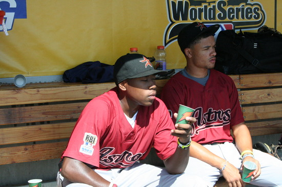 2008 RBI World Series - Day 2 - Faces - Houston Senior Boys