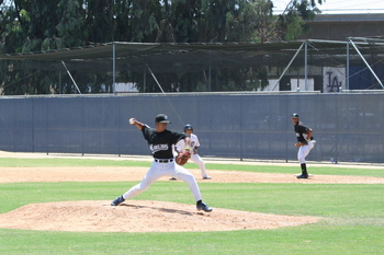 RBI World Series - Day 3 - Marlins pitching throwing ball
