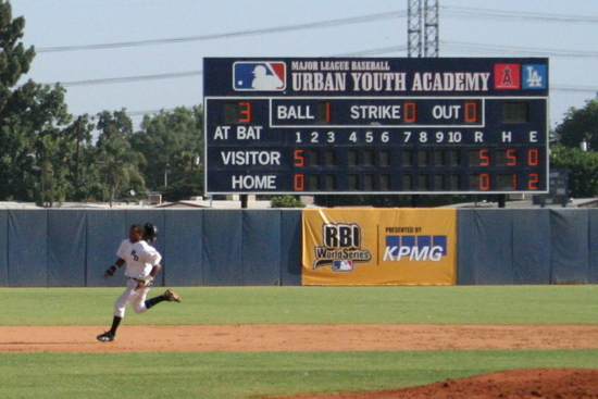 RBI World Series - Day 4 - D.R. player runs the bases