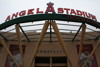 Angel Stadium Close up Exterior