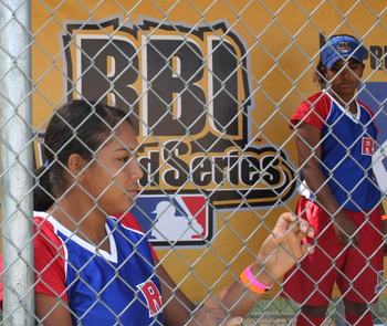 RBI World Series 2008 - Softball Championship - Dugout