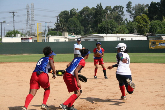 RBI World Series 2008 - Softball Championship - At Bat