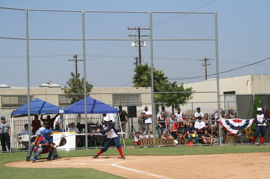 RBI World Series 2008 - Softball Championship - At Bat 2