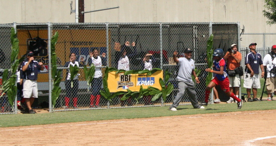 RBI World Series 2008 - Softball Championship - Running home