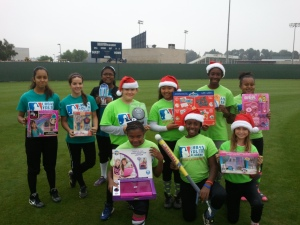 2012 Softball Toys for Christmas