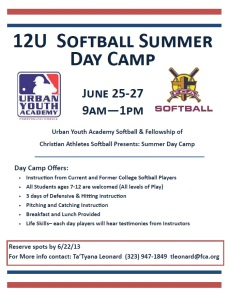 Softball Summer League Flyer