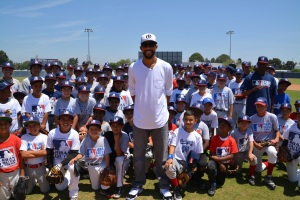 David Price Visits the Baseball Field
