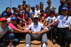 David Price and the Softball Girls